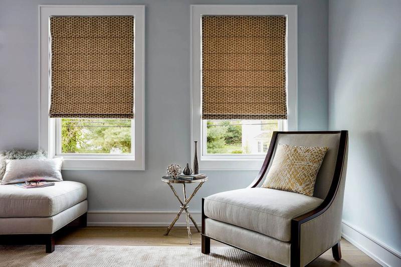 Римские шторы для гостиной 5