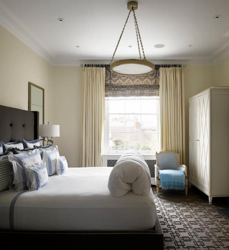 Римские шторы для спальни 4