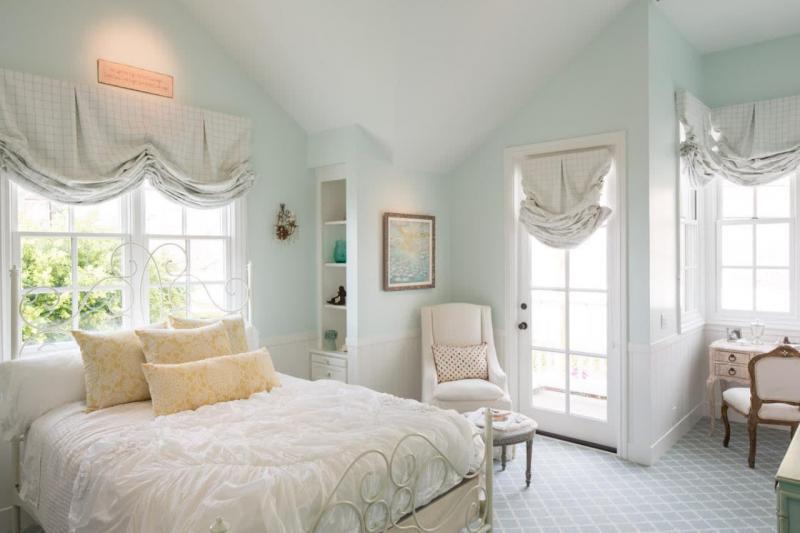 Римские шторы для спальни 6