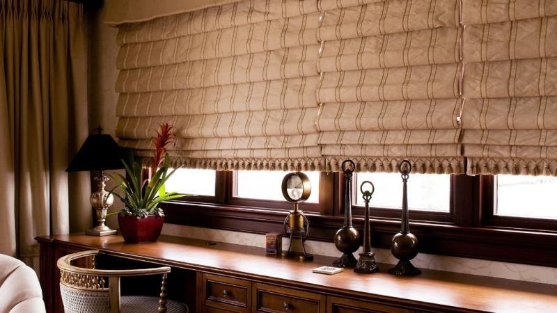 Смесовые римские шторы 2