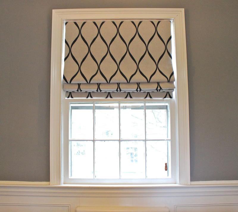 Смесовые римские шторы 4