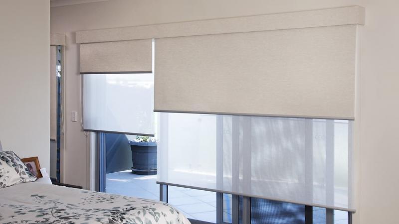 Комбинированные рулонные шторы 3