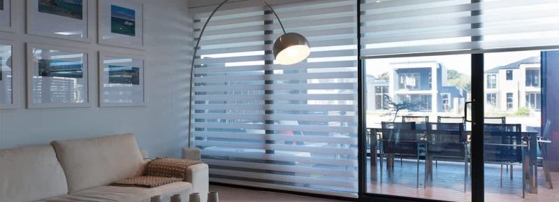 Комбинированные рулонные шторы 5