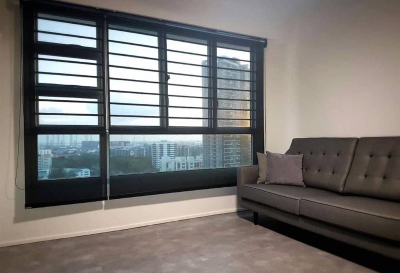 Комбинированные рулонные шторы 6