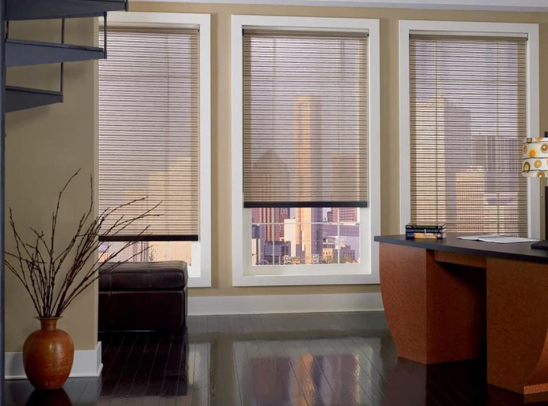 Комбинированные рулонные шторы 8