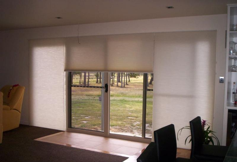 Открытый тип рулонных штор 2