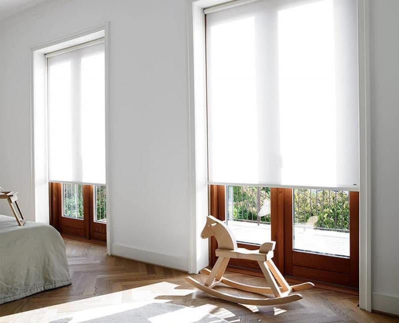 Открытый тип рулонных штор 3