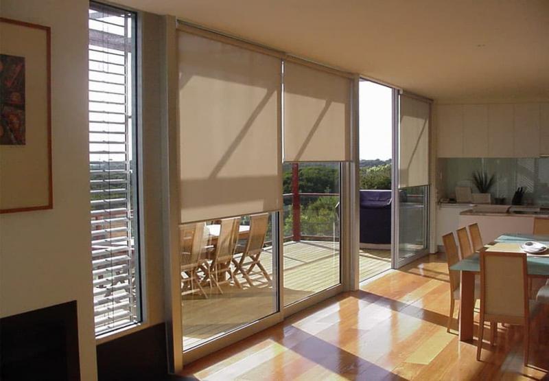 Рулонные шторы для панорамных окон 2