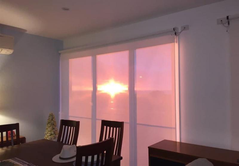 Рулонные шторы для панорамных окон 3