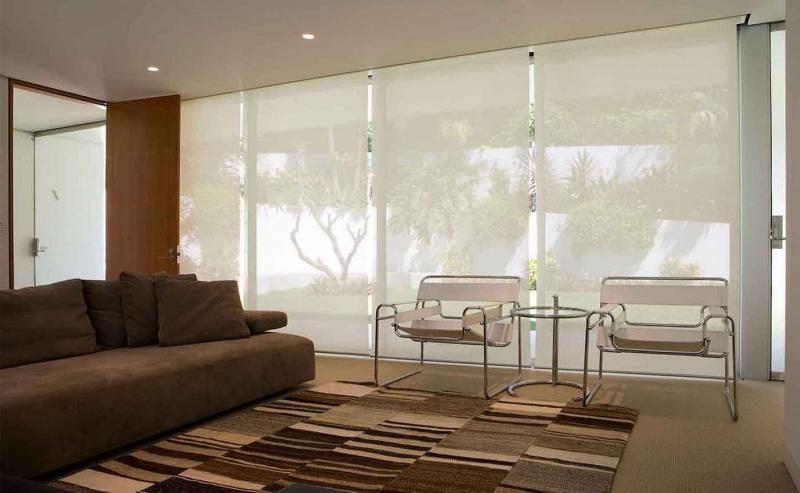 Рулонные шторы для панорамных окон 6