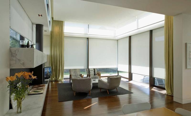 Рулонные шторы для панорамных окон 8