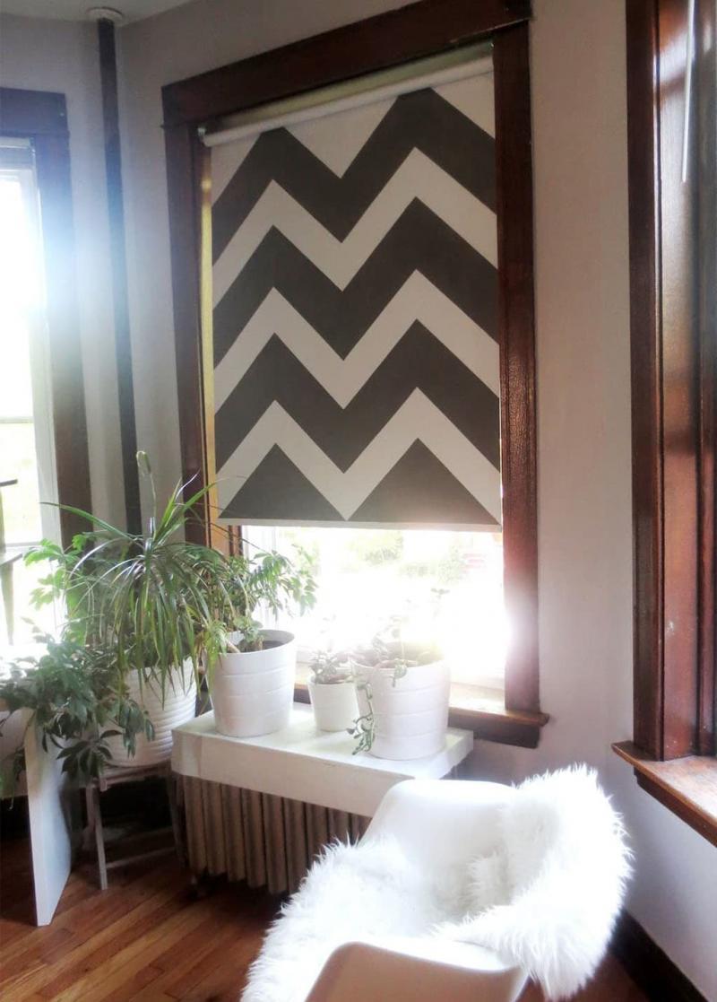 Рулонные шторы с принтом 8
