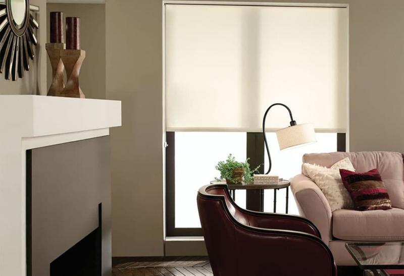 Рулонные шторы в интерьере 10