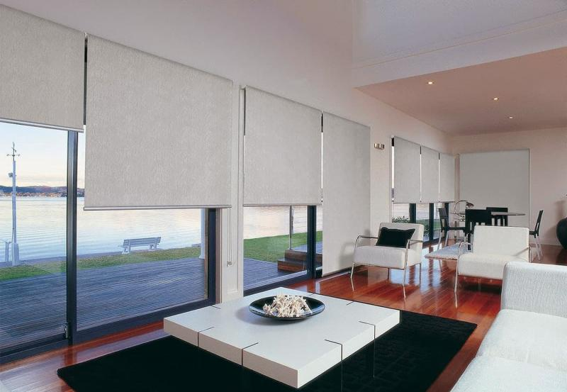 Рулонные шторы в интерьере 4