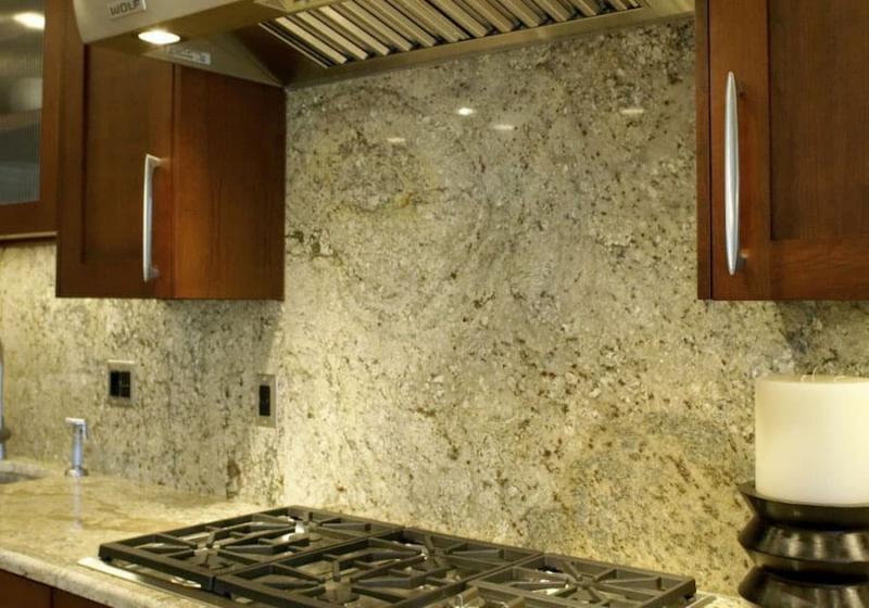 Фартук для кухни из камня 6