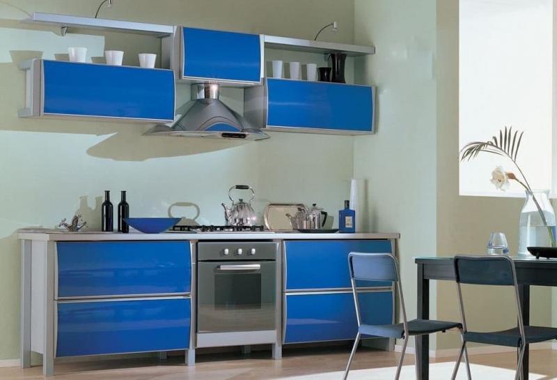 Фартук для кухни (крашеная стена) 4
