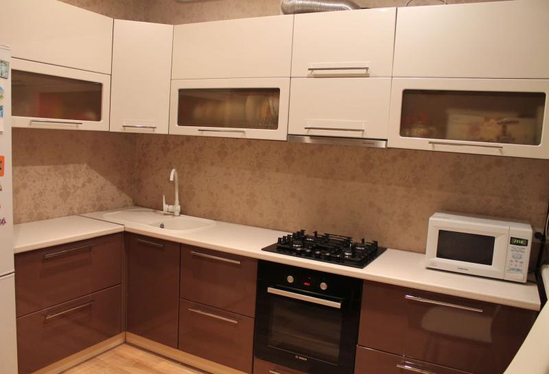 Фартук для кухни (крашеная стена) 5