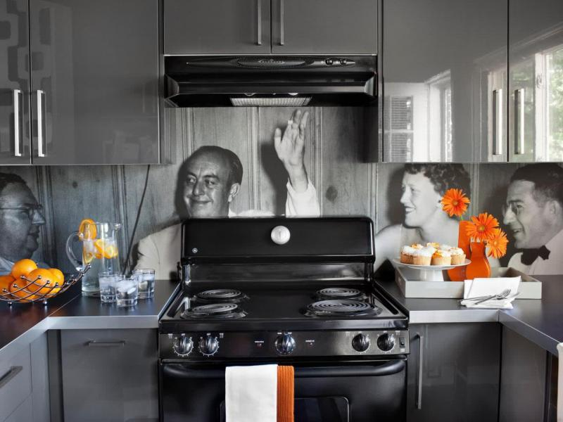 Фартук для кухни с фото своими руками 2