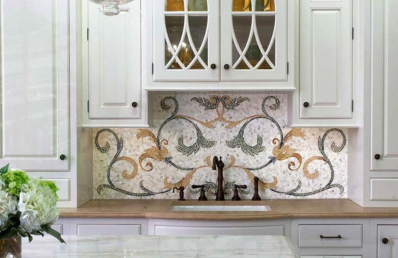 Мозаика (кухонный фартук)