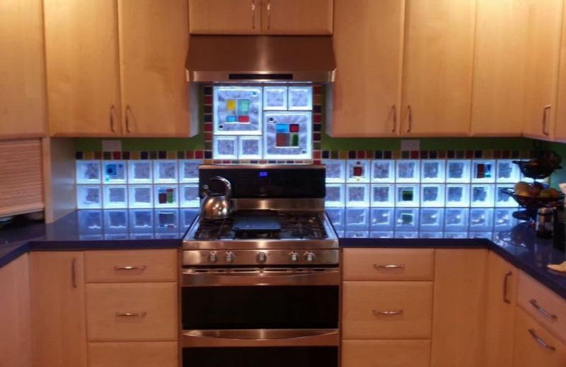 Мозаика на кухне из кафеля 3