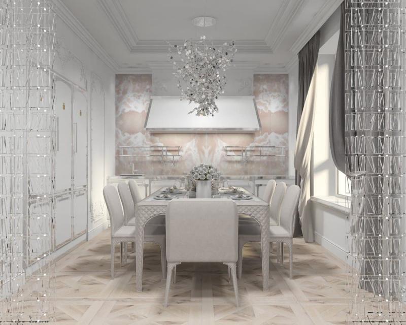 Фартук для кухни до потолка (Лена Логинова, г. Москва) 2