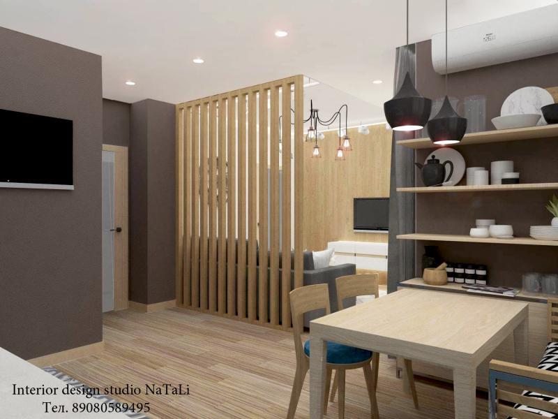 Дизайн интерьера кухни гостиной в современном стиле