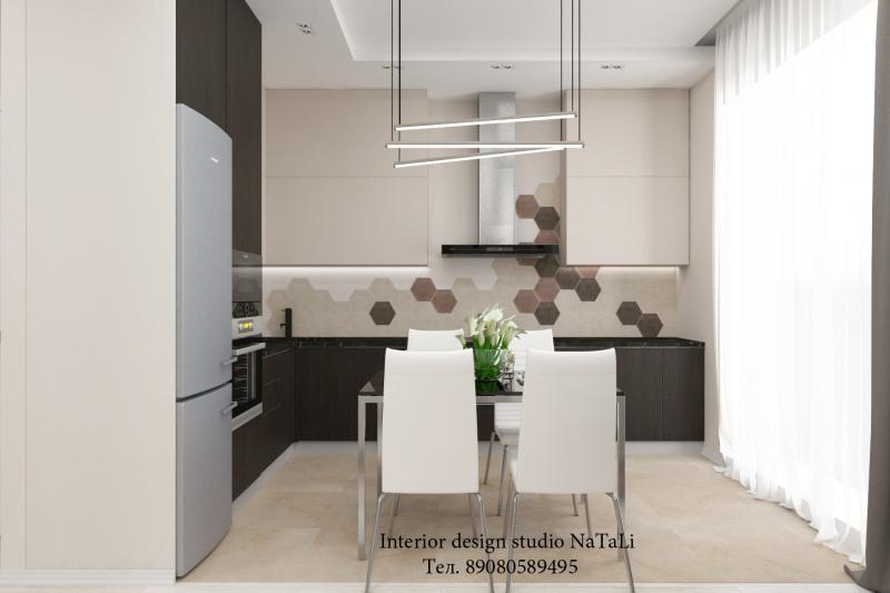 Дизайн интерьера квартиры в ЖК Ньютон г. Челябинск