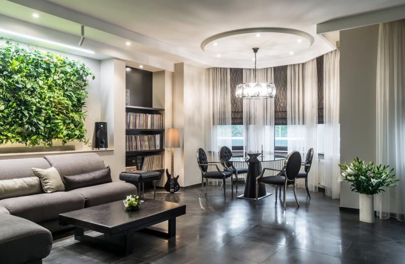 Современная буржуазность: проект пятикомнатной квартиры