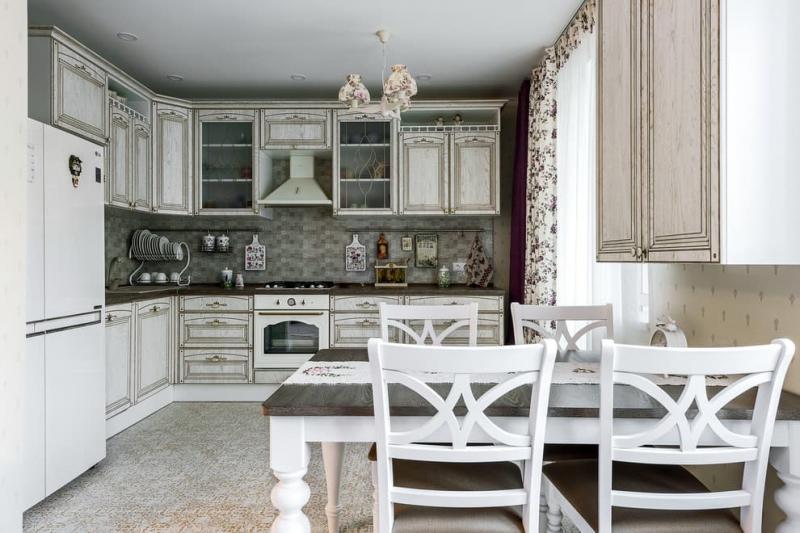Уютный прованс в двухкомнатной квартире