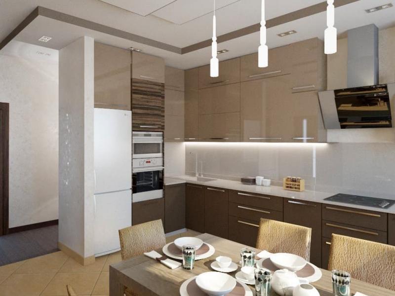 Кухня в современном стиле (Наталья Бучнева, г. Челябинск) 2