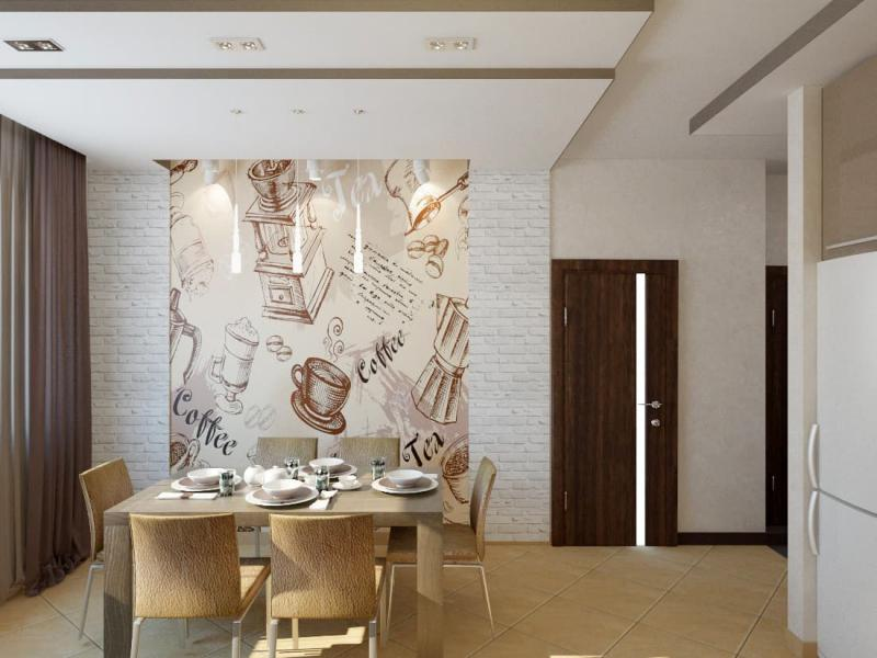 Кухня в современном стиле (Наталья Бучнева, г. Челябинск) 4