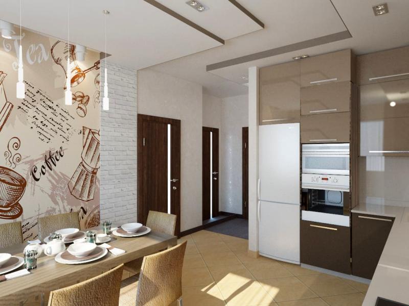 Кухня в современном стиле (Наталья Бучнева, г. Челябинск) 5