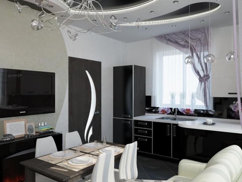 Кухня в частном доме (Наталья Бучнева, г. Челябинск) - фото 1