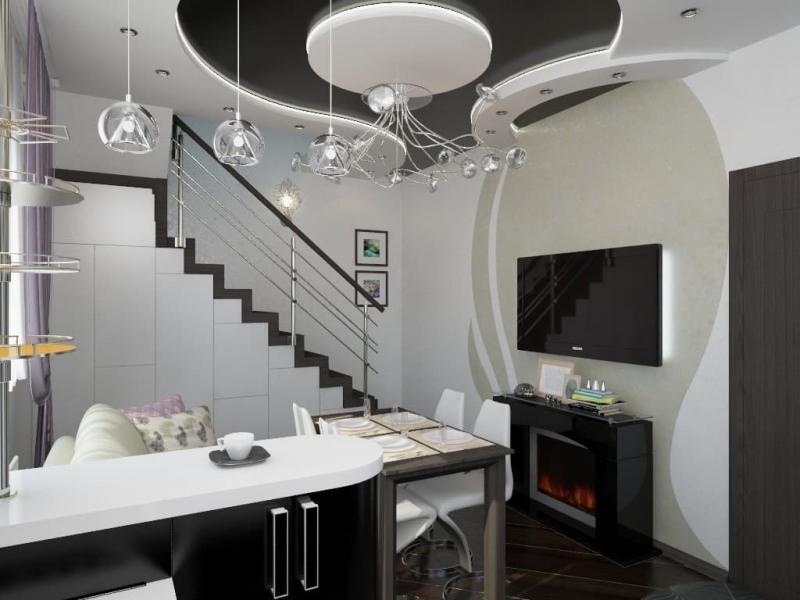 Кухня в частном доме (Наталья Бучнева, г. Челябинск) - фото 2