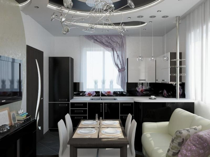 Кухня в частном доме (Наталья Бучнева, г. Челябинск) - фото 3