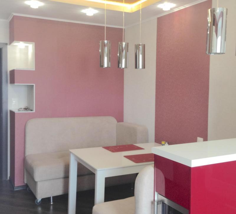 Кухня красного цвет (Наталья Бучнева, г. Челябинск) 5