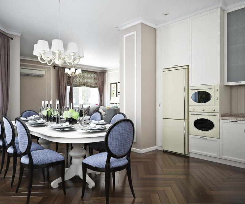 Кухня в стиле американская классика (Insomnia, г. Челябинск) - фото 2