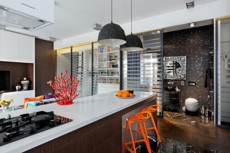 Кухня в стиле фьюжн. 44 кв. м, г. Киев - фото 3