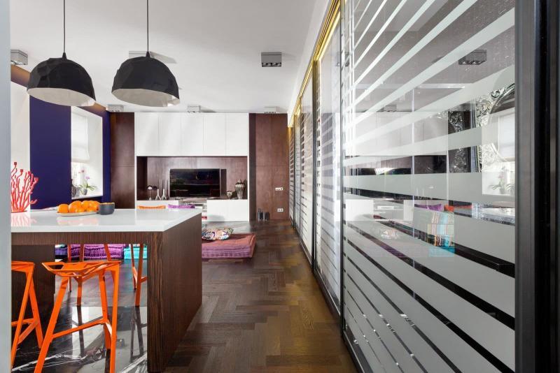 Кухня в стиле фьюжн. 44 кв. м, г. Киев - фото 6