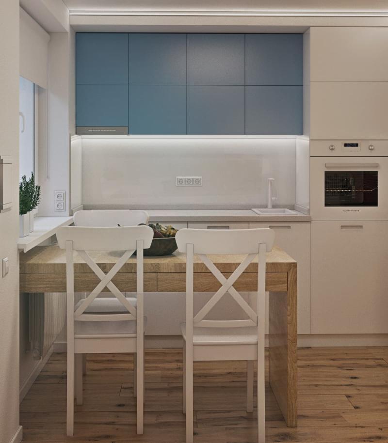 Кухня 8 кв.м (op-2, г. Москва) 1