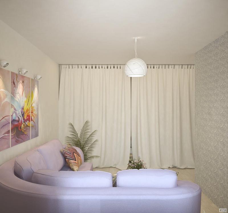 1-комнатная квартира на Приозерском шоссе