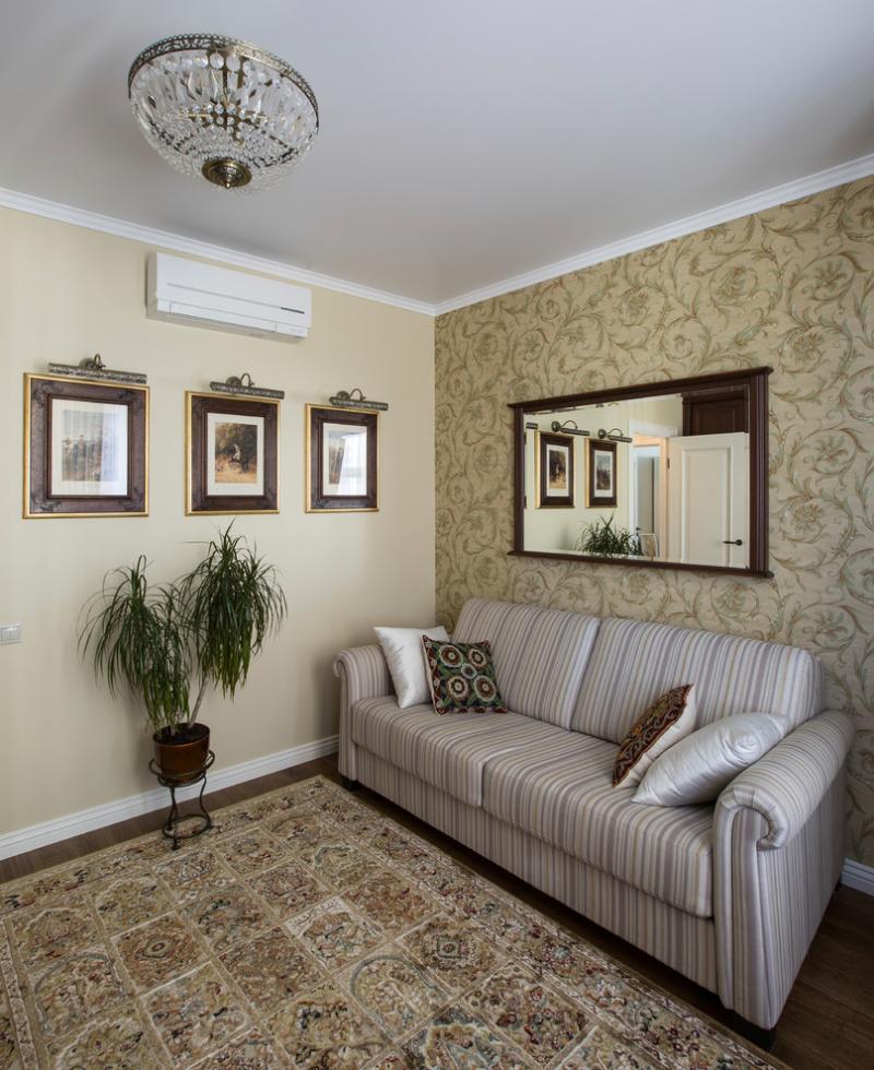 Интерьер квартиры в ЖК «Времена года»