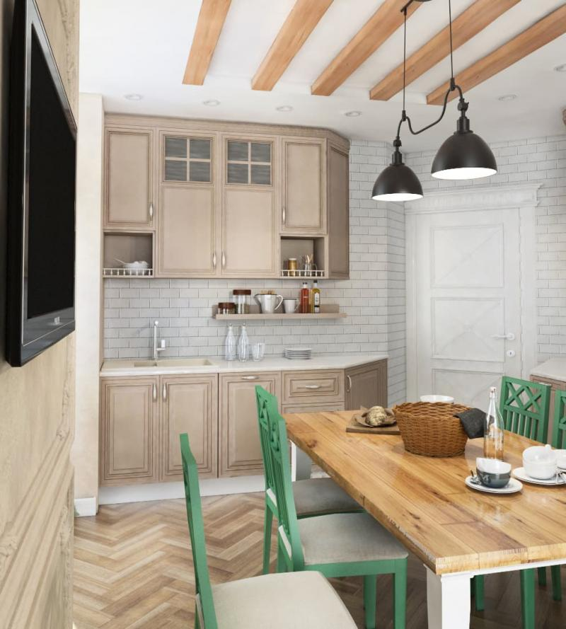 Кухня 14 кв.м (Instilier, г. Москва) 1