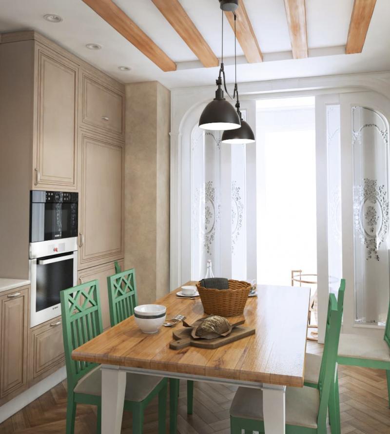 Кухня 14 кв.м (Instilier, г. Москва) 3