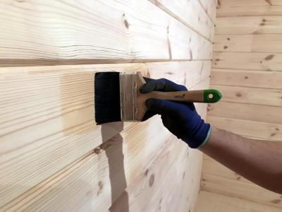 Шлифовка бруса при строительстве дома