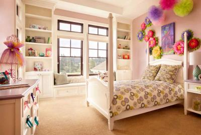 Детская комната для девочки: создаём уютный дизайн интерьера