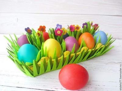 Подставка для пасхальных яиц своими руками Мастер-класс
