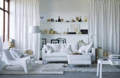 Белый цвет в интерьере. Дизайнерские решения