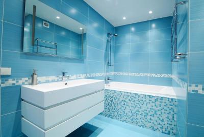 Плитка для ванной комнаты (150 фото)