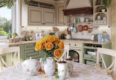Особенности кухонь в деревенском стиле